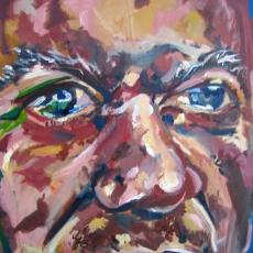 Arek Hersh - 61cm, 46cm, oil on canvas