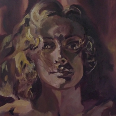Mother - 50cm, 61cm, oil on canvas