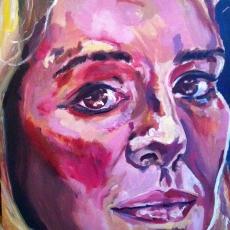 Gillian Hearst - 61cm, 46cm, oil on canvas