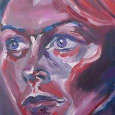 Holly Davidson - 41cm, 31cm, oil on canvas
