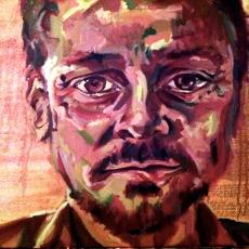 Jonathan Yeo - 50cm, 70cm, oil on canvas