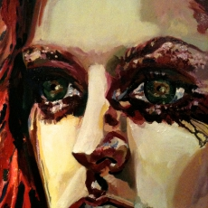 Lydia Hearst - 61cm, 46cm, oil on canvas