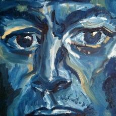 Richard Thompson - 41cm, 31cm, oil on canvas