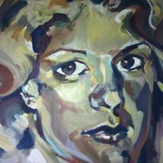 Vecchiato - 50cm, 61cm, oil on canvas