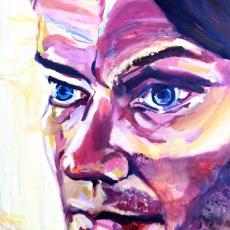 William Orbit - 61cm, 46cm, oil on canvas
